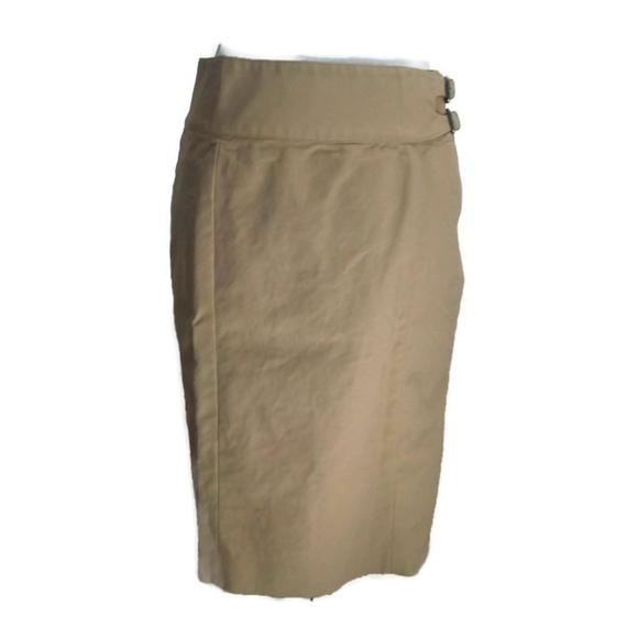 Lauren Ralph Lauren Dresses & Skirts - Lauren Ralph Lauren Tan Pencil Skirt Knee Length 6